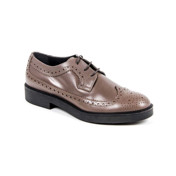 V 1969 Italia Womens Brogue Shoe B1670 VITELLO TAUPE