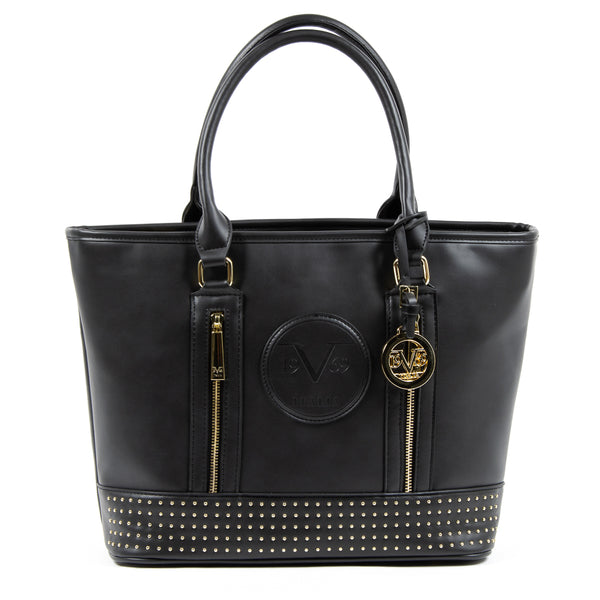 V 1969 Italia Womens Handbag Black AGATA