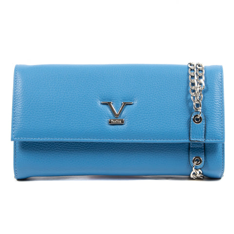 V 1969 Italia Womens Handbag Blue KYRA