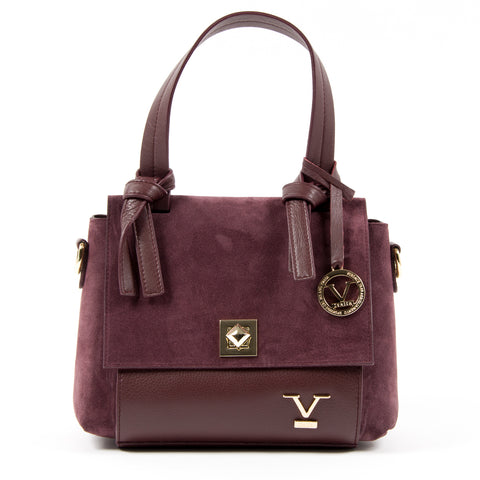 V 1969 Italia Womens Handbag Bordeaux HOUSTON