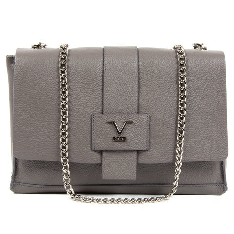 V 1969 Italia Womens Handbag Grey ELLY