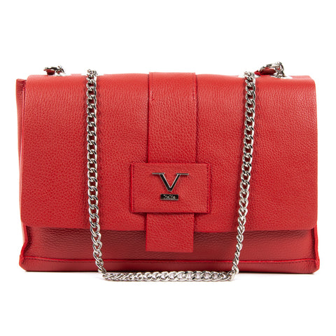 V 1969 Italia Womens Handbag Red ELLY