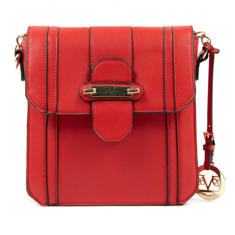V 1969 Italia Womens Handbag Red LINDA
