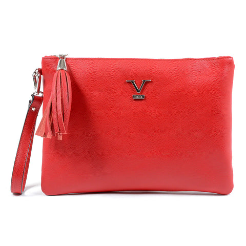 V 1969 Italia Womens Handbag Red PECHINO