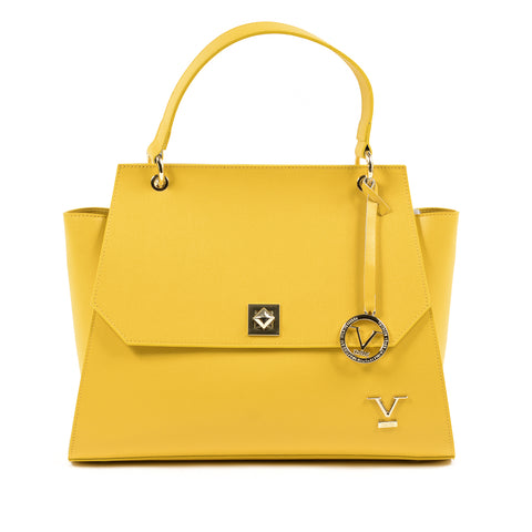 V 1969 Italia Womens Handbag Yellow FENIX