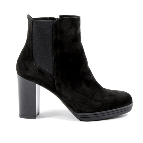 V 1969 Italia Womens Heeled Ankle Boot Black MADELYN