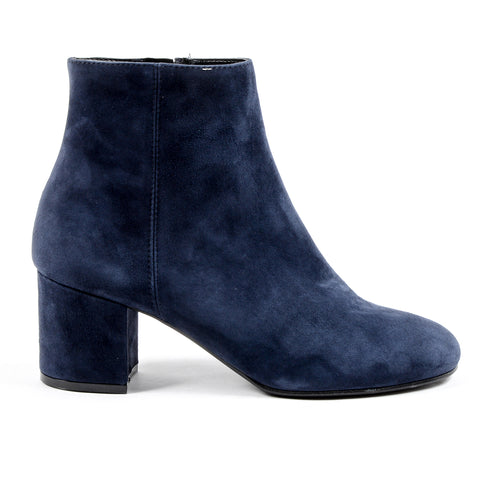 V 1969 Italia Womens Heeled Ankle Boot Blue MAD
