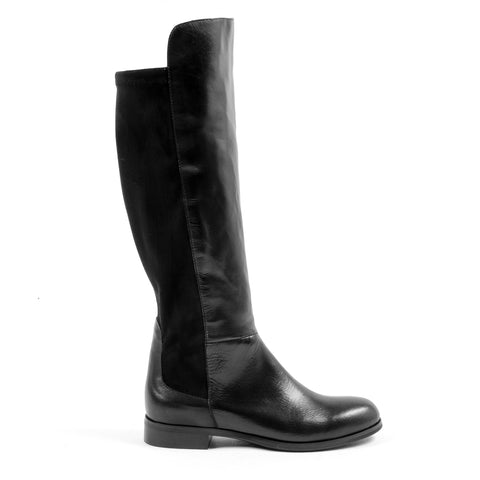V 1969 Italia Womens High Boot Black GRAPE