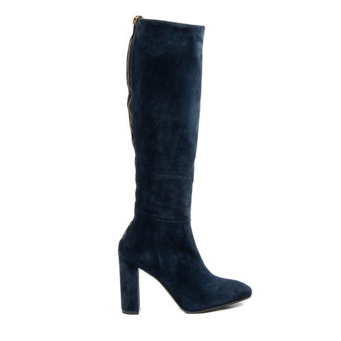 V 1969 Italia Womens High Boot Dark Blue YARA