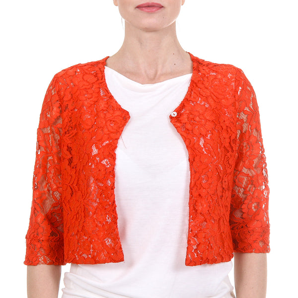 V 1969 Italia Womens Lace Jacket BUIA