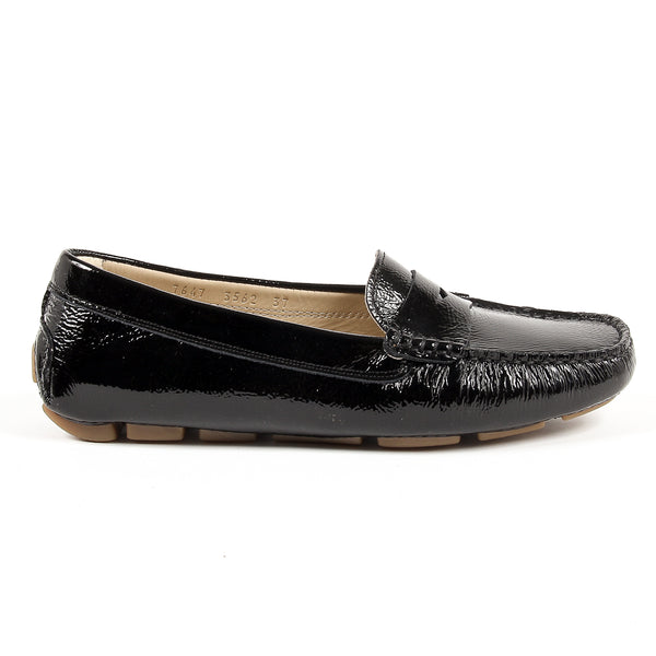 V 1969 Italia Womens Loafer Black AMALFI