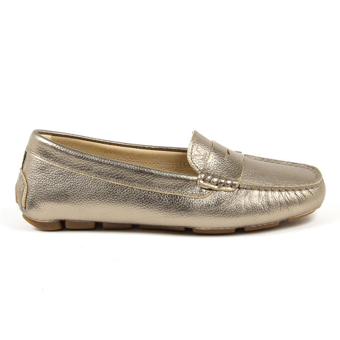 V 1969 Italia Womens Loafer Gold AMALFI