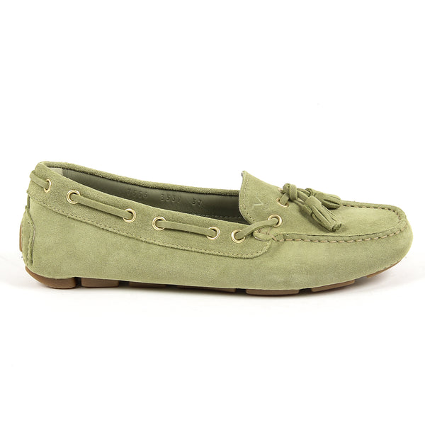 V 1969 Italia Womens Loafer Green TORINO