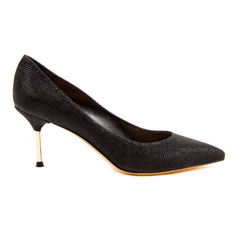 V 1969 Italia Womens Pump Black CRICKET