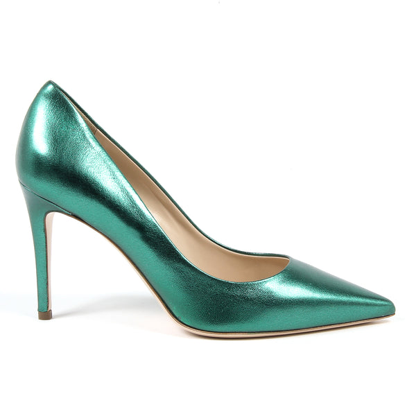 V 1969 Italia Womens Pump Green MINA