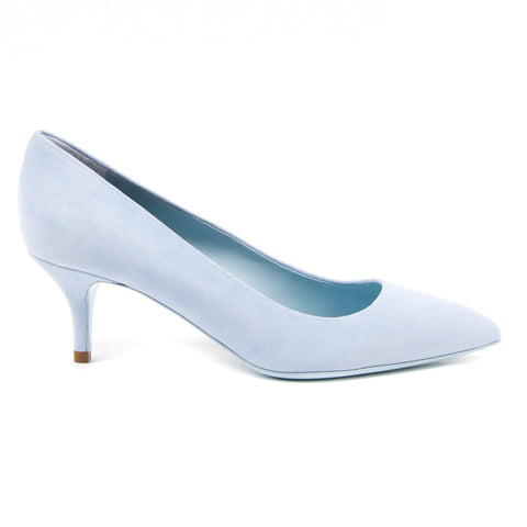 V 1969 Italia Womens Pump Light Blue DESY