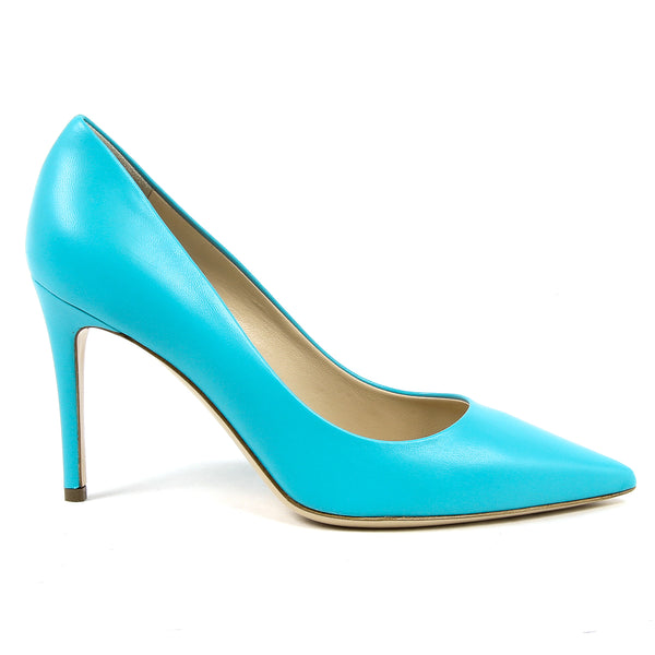 V 1969 Italia Womens Pump Light Blue MINA