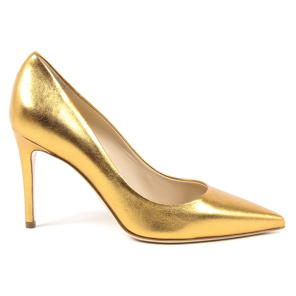 V 1969 Italia Womens Pump Yellow MINA