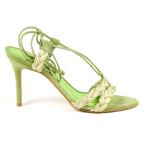 V 1969 Italia Womens Sandal Green LETITIA