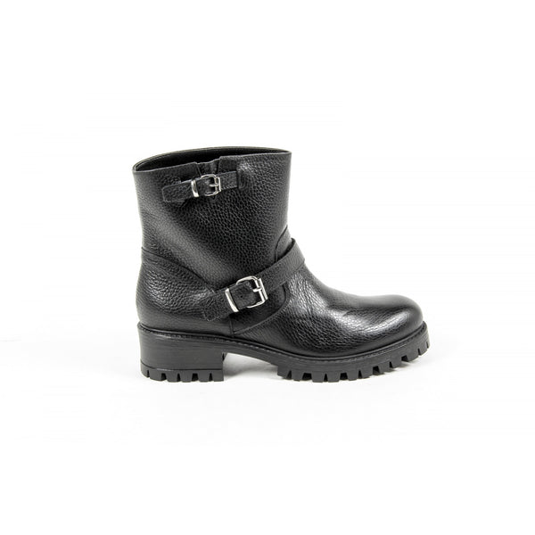 V 1969 Italia Womens Short Boot B1441 CERVO NERO