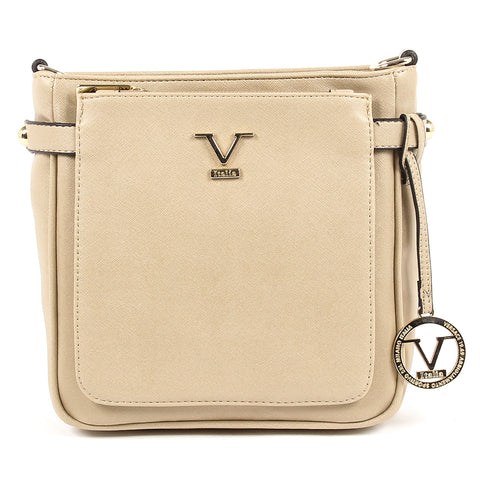 V 1969 Italia Womens Shoulder Bag Beige MONICA