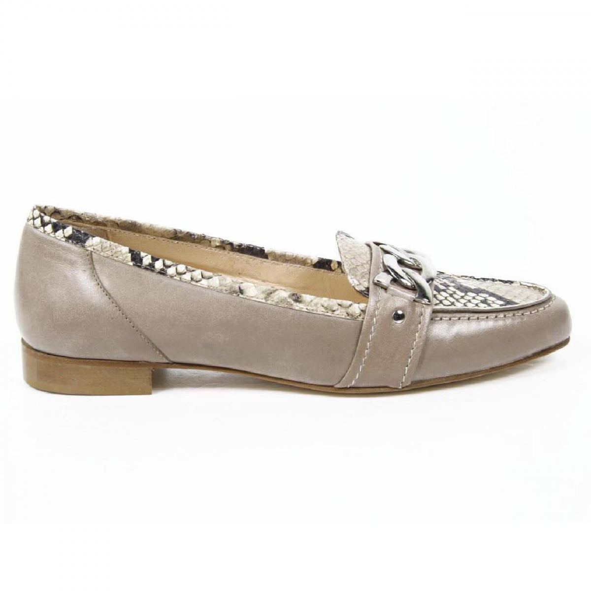 V 1969 Italia Womens loafer 7016 Capretto Beige