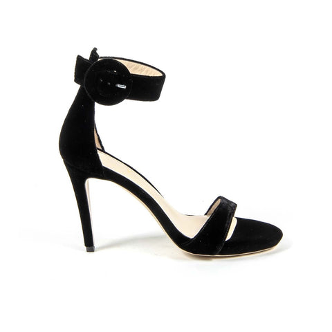 Versace 19.69 Womens Ankle Strap Sandal 3124693 VELLUTO NERO