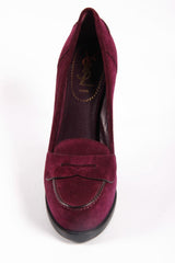 Yves Saint Laurent Shoes Women Pumps Purple - LeCITY