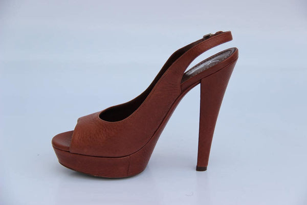 Yves Saint Laurent Shoes Women Pumps Brown - LeCITY