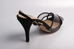 Yves Saint Laurent Shoes Women Sandals Black - LeCITY