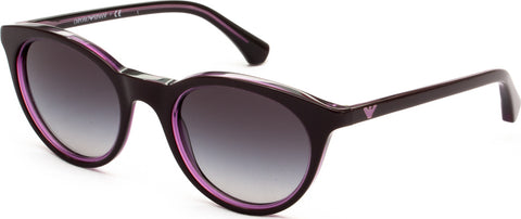 Emporio Armani EA 4061 Sunglasses Purple Lens 5479/87 EA4061 For Women
