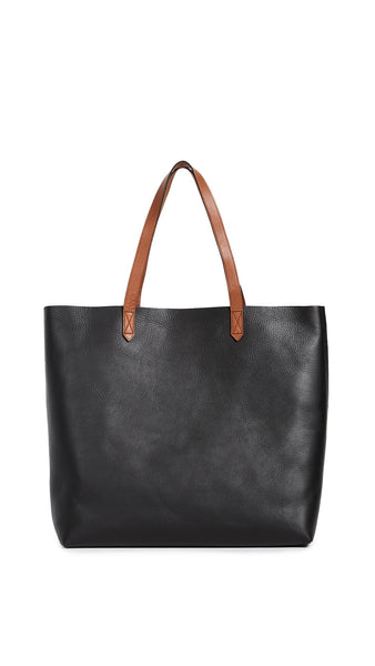 Madewell The Transport Tote Black