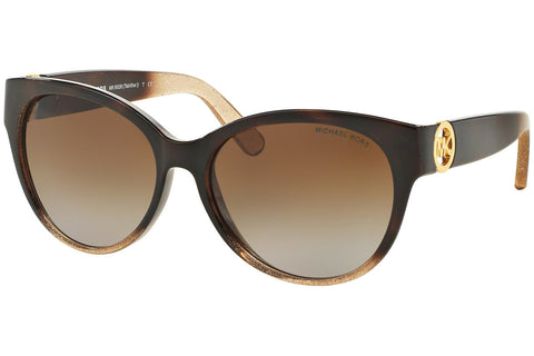 Michael Kors MK6026 3096T5 Sunglasses Polarized Glitter Brown