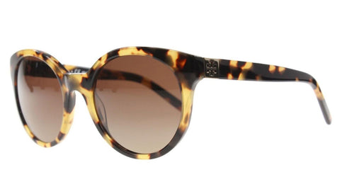 Tory Burch Ty7079 100% Polarized Sunglasses Spotty Tort 1474t5