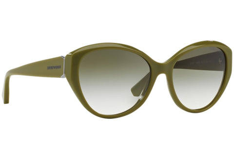 Emporio Armani EA4037 52568E green Cats Eyes Olive Green