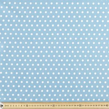 50% Off Christmas Sale:  Light Blue Polka Dot Dress