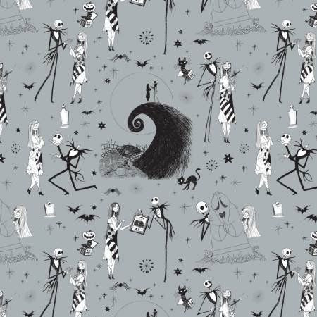 Nightmare Before Christmas Inspired Rockabilly Dress