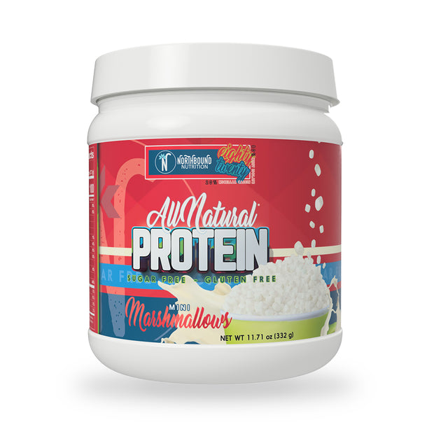 All Natural Protein Blend (80% Isolate/20% Casein) - Mini Marshmallow - 12 Servings