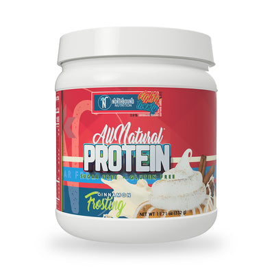 All Natural Protein Blend (80% Isolate/20% Casein) - Cinnamon Frosting - 12 Servings