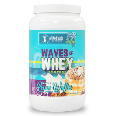 Waves of Whey Protein - Maple Pecan Waffles