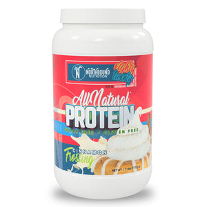 All Natural Protein Blend (80% Isolate/20% Casein) - Cinnamon Frosting