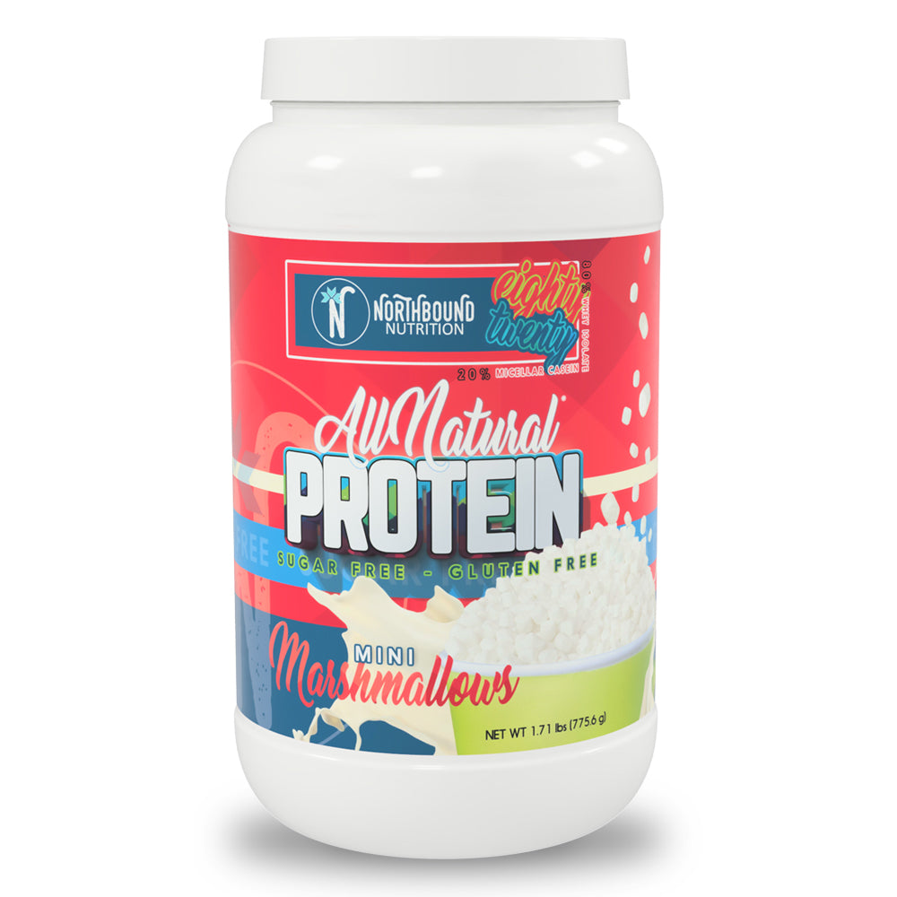 All Natural Protein Blend Mini Marshmallow By Northbound Nutrition 80 Isolate 20 Casein