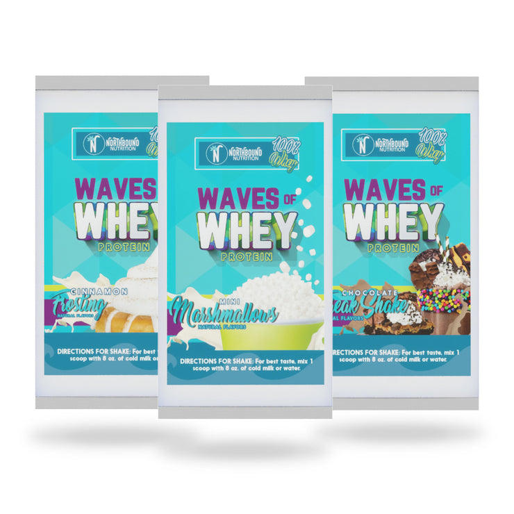 WAVES OF WHEY SAMPLE PACK