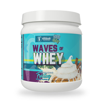 Waves of Whey Protein - Cinnamon Frosting - 12 Servings