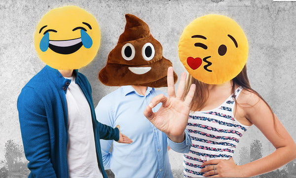 Emoji Pillows | Unique & Fun Valentine's Day Gifts | Witty Novelty