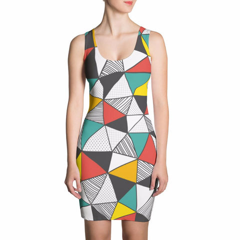 Geomania Cut & Sew Dress |  | Witty Novelty