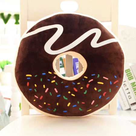 Donut Pillows | Unique Novelty Pillows | Witty Novelty