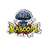 KaBoom Explosion Mushroom Cloud Sticker | Stickers | Witty Novelty