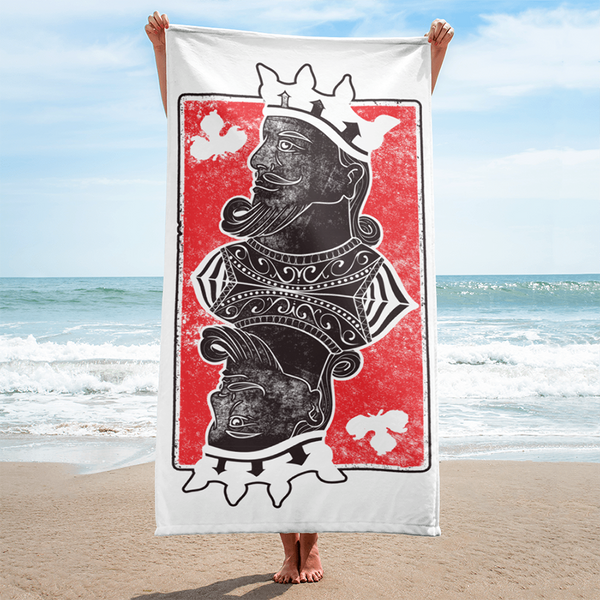 I'm Your King Beach Towel |  | Witty Novelty