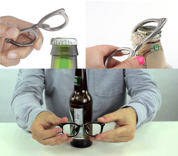 Glasses Bottle Opener | Fun Bar & Party Accessories | Witty Novelty
